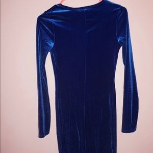 Two Midi Long Sleeve Dresses